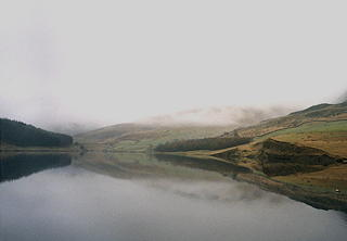 Photograph. Dovestones Reservoir, Greenfield.